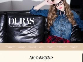 DURAS ウェブデザインサンプル