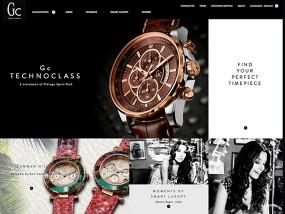 Gc Watches ウェブデザインサンプル