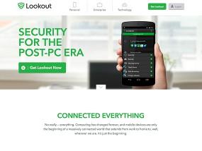 ウェブデザインサンプル Mobile Security Lookout, Inc.