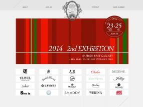 ウェブデザインサンプル TOKYO NO BORDER FASHION FESTIVAL