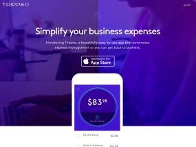 Trippeo ウェブデザインサンプル